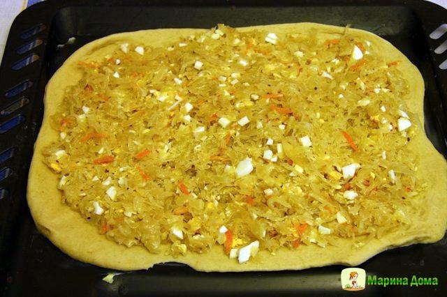 Начинка из капусты для пирожков в духовке рецепт с пошагово