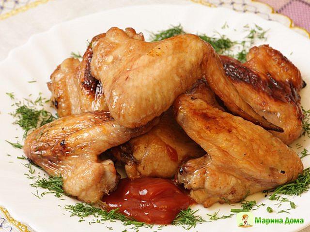 крылышки куриные жареные рецепт фото