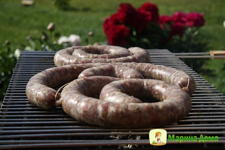 Лето и Домашняя колбаса