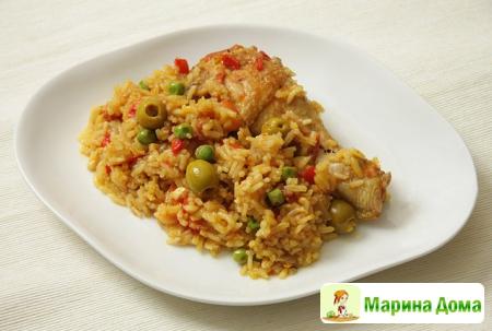 Arroz con Pollo – курица с рисом или испанский плов