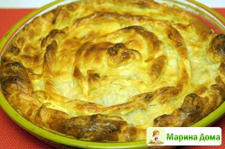 Пирог со свининой по-молдавски