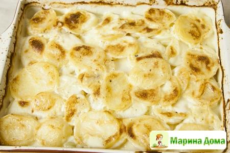 Картофель дофинуа с хреном