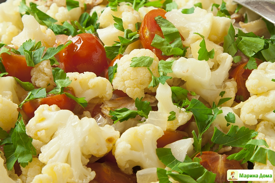 гарнир из цветной капусты как приготовить