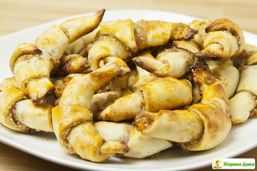 простой рецепт рогаликов с фото пошагово