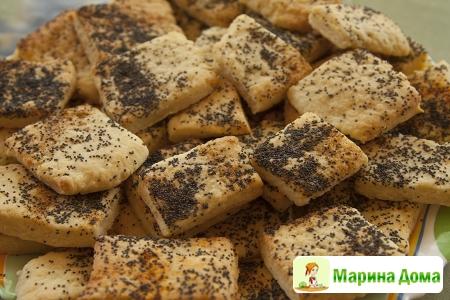 Печенье с фетой и специями
