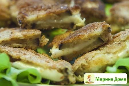 Сэндвич из баклажанов с сыром