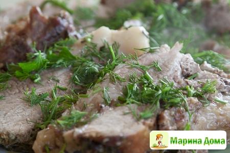 Свинина в тосканском стиле (arista)