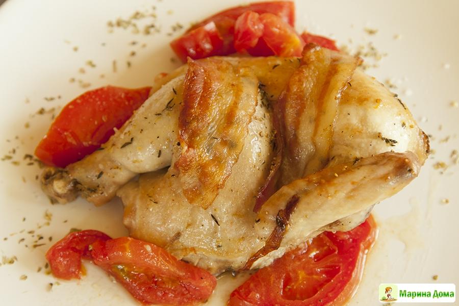 блюда из цыплят корнишонов рецепты с фото