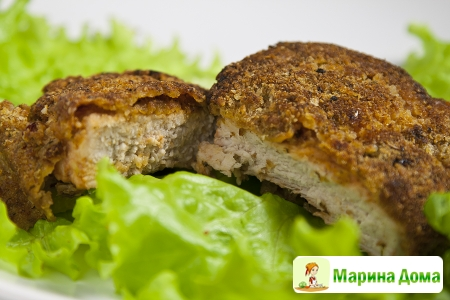 Филе свинины в ароматной панировке + полезный гаджет (тендерайзер)