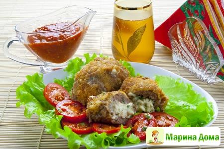 Зразы «Кодрянка» (молдавская кухня)