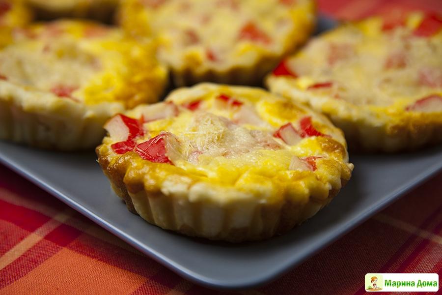 закусочные вафельные тарталетки рецепты с фото