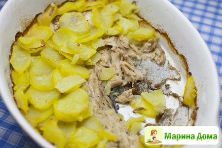 Рыба в картофельной «чешуе»