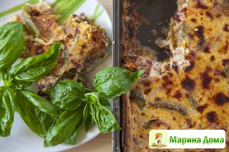 Пирог с болгарским перцем