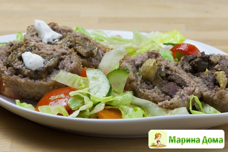 Зразы с печенью и грибами по-белорусски
