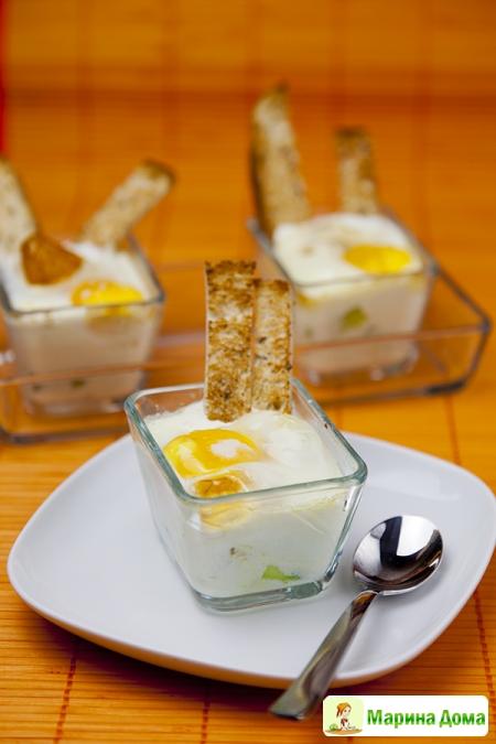 Яйцо со спаржей – завтрак для любимого