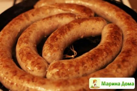 Домашняя колбаса (видео рецепт)