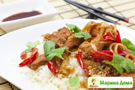 Свинина в китайском стиле