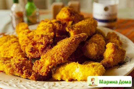 Курица в хрустящей панировке (мой ответ KFC)