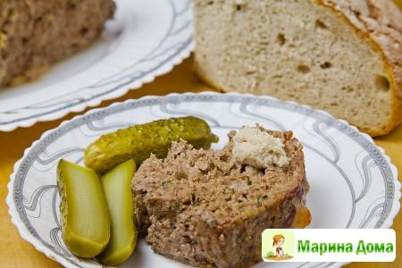 «Мясной хлеб»  с мягким сыром
