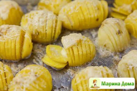 Запеченный картофель, пошаговый рецепт