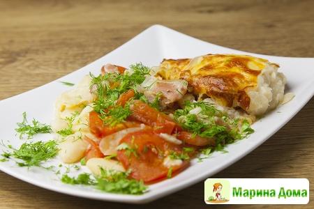 Запеканка из белой фасоли (пошаговый рецепт)