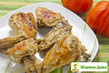 Курица в маринаде с перцем халапеньо