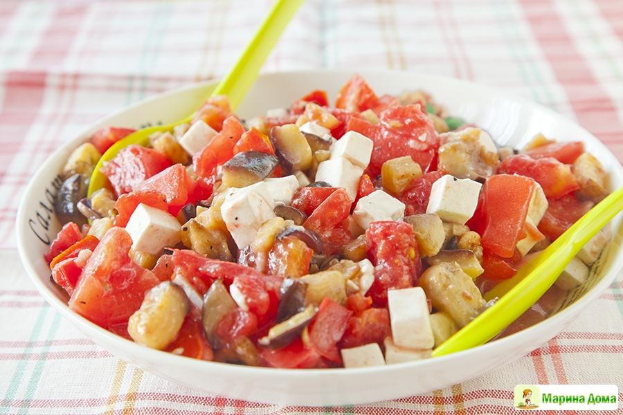 Что можно приготовить из баклажанов и помидоров