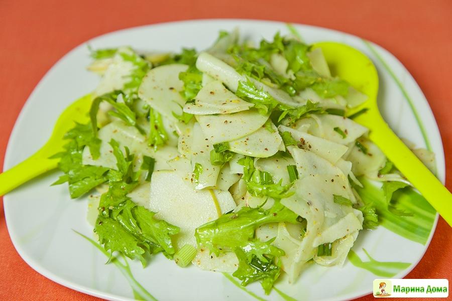 салат из кольраби с мясом рецепты
