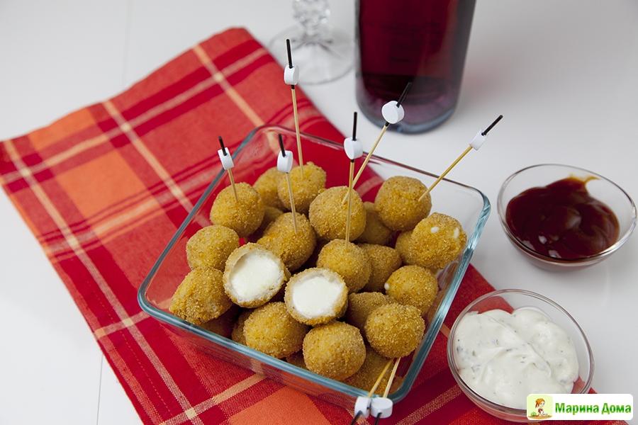 Рецепты с моцареллой шариками