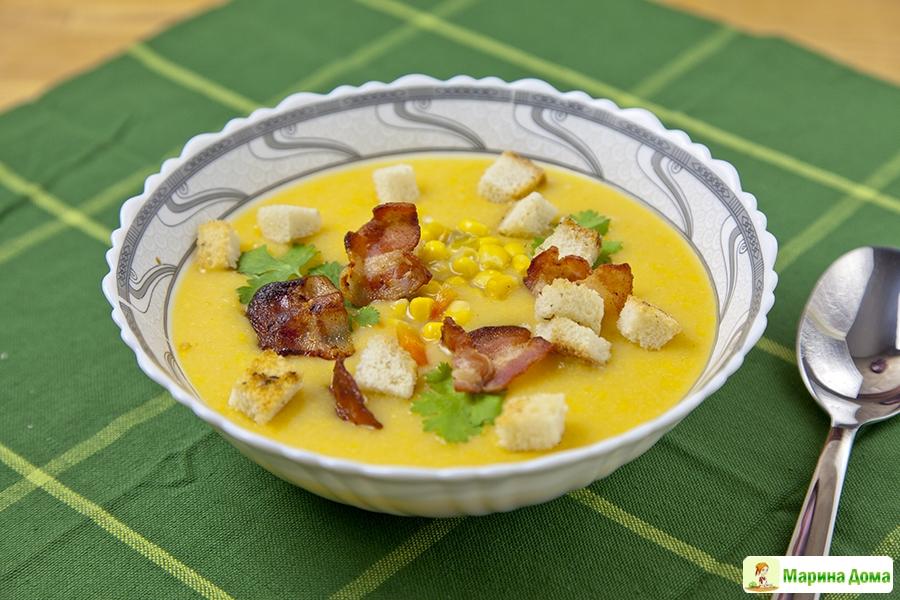 Суп из чечевицы с беконом рецепт