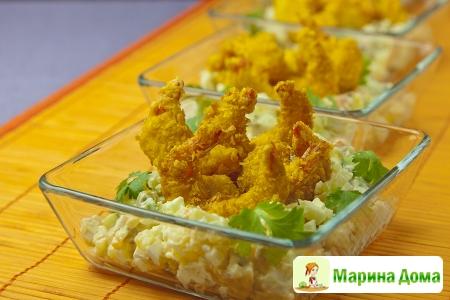 Русский салат (ensalada rusas)
