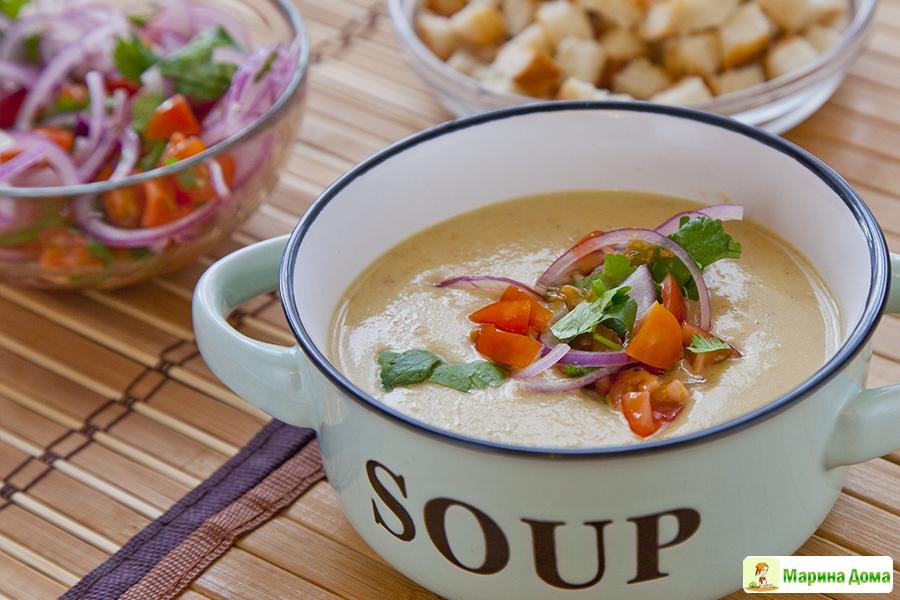 как приготовить вкусный суп из цветной капусты рецепты