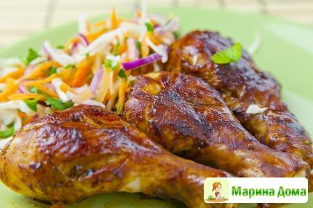Куриные голени в азиатском стиле