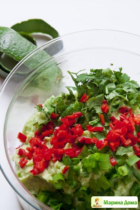 Помидоры, фаршированные гуакамоле Пошаговый рецепт