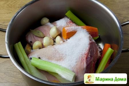 Запеченные свиные рульки Пошаговый рецепт